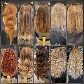 Ich freue mich wenn es endlich wieder los geht🍀 Für zwischendurch etwas Extensions Inspo @greatlengths . . . . . . [Werbung] #hairstyle #hairextensions #beforeandafter #haarverlängerung #longhair #coiffeurlauschke #hairstyles #curlyhair #streighthair #hairtransformation #transformation